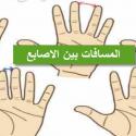 المسافات بين الأصابع و تحليل الشخصية