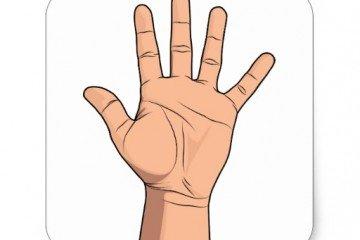 شخصية اليد المربعة وصفاته الشخصية