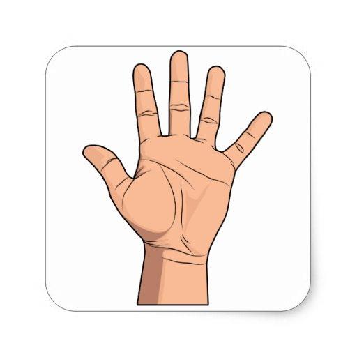 شخصية اليد المربعة