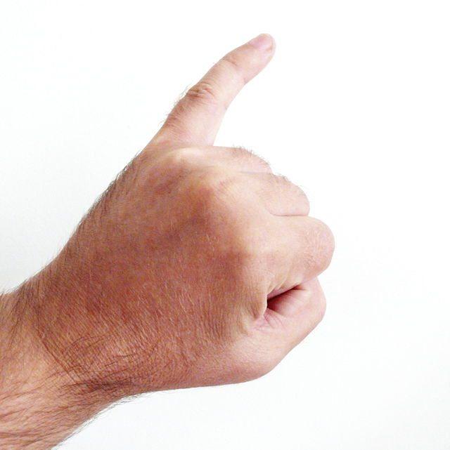 تحليل الشخصية من خلال اصابع اليد